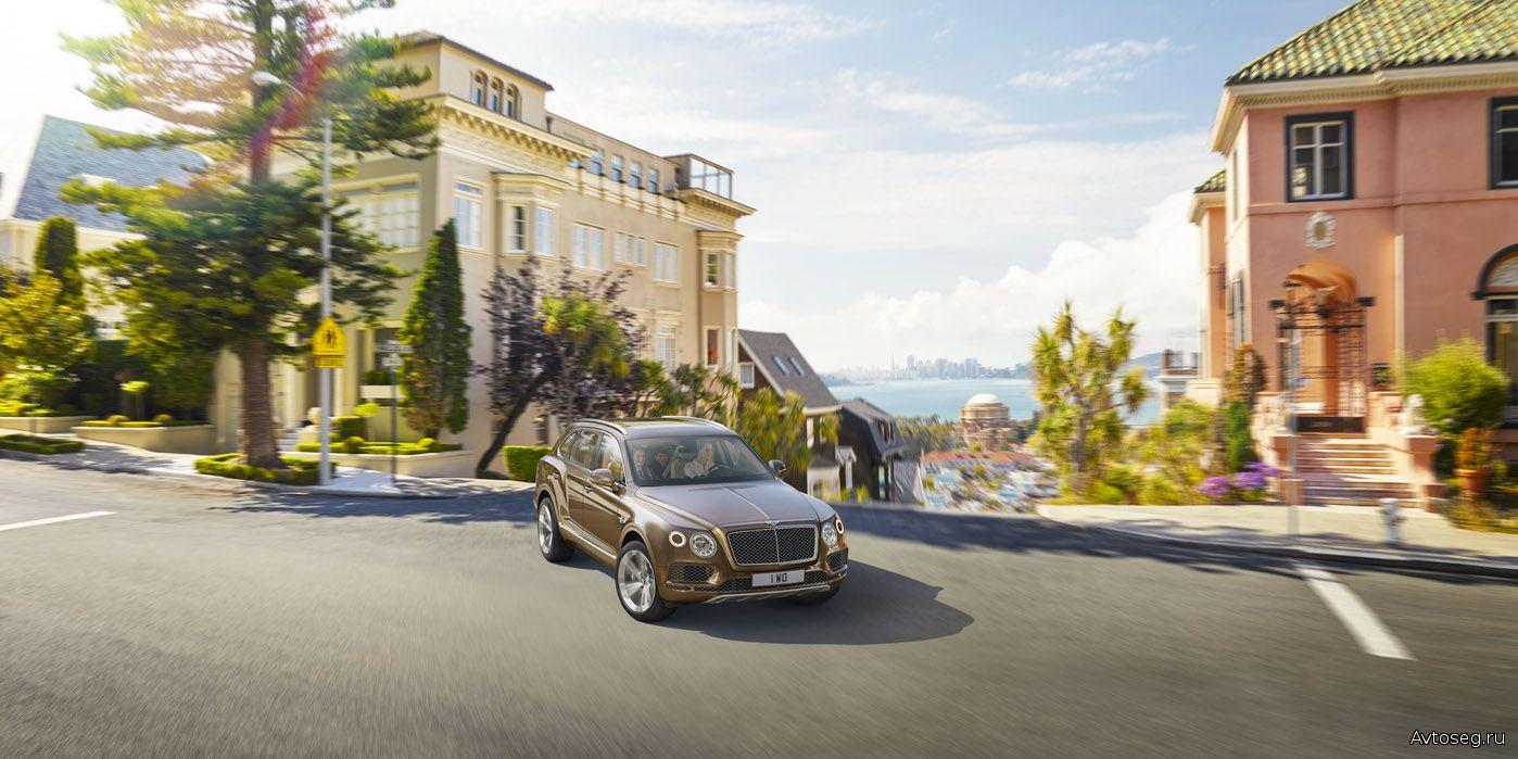 Роскошный внедорожник Bentley Bentayga